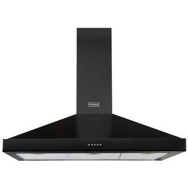 Stoves 900 Richmond Chimney Hood MK2 Black-Appliance People