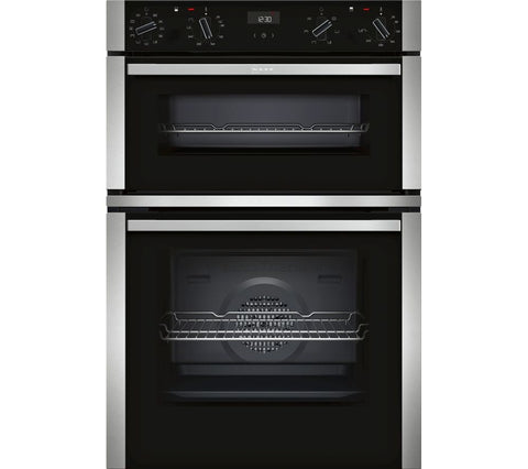 Neff U1ACE5HN0B N50 Built-in Double Oven Black