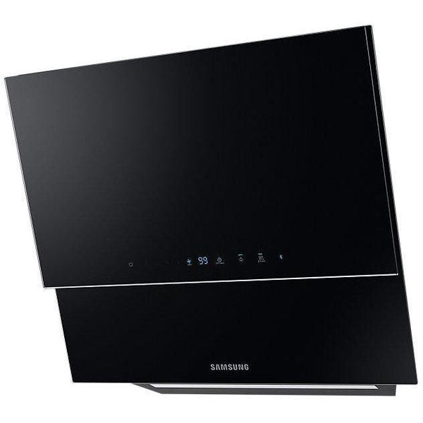 Samsung NK24N9804VB 60cm angled hood in black glass-Appliance People