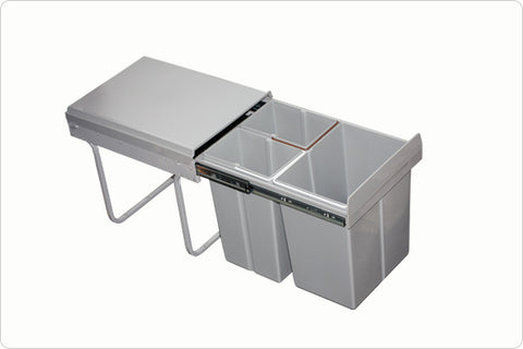 The 1810 Company WASTE SEPERATION BIN 40 LTR Waste Bins-Appliance People