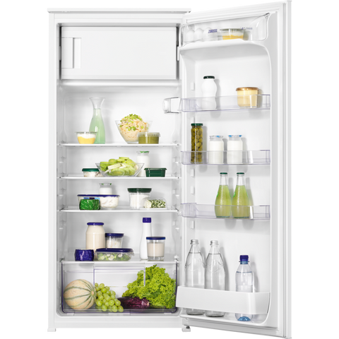 Zanussi ZBA22421SV Integrated built-in refrigerator with ice box-Appliance People