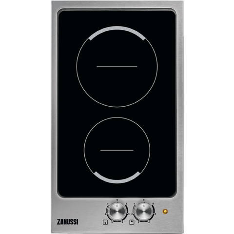 Zanussi ZES3921IBS Electric hob stainless steel-Appliance People