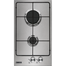 Zanussi ZGG35214XS Gas hob stainless steel-Appliance People