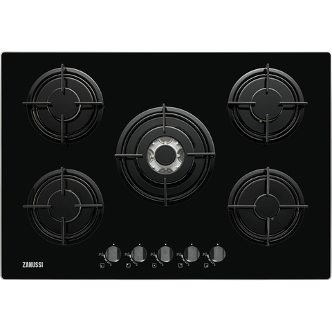 Zanussi ZGO75524BA Gas hob black-Appliance People