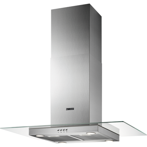 Zanussi ZHS92650XA 90cm Island hood stainless steel-Appliance People