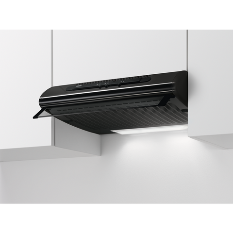 Zanussi ZHT611N 60cm Traditional hood black-Appliance People