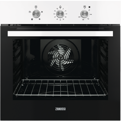 Zanussi ZOB31471WK 60cm Electric Oven white-Appliance People