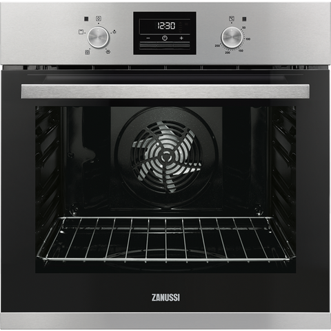 Zanussi ZOB35471XK 60cm Electric Oven stainless steel-Appliance People