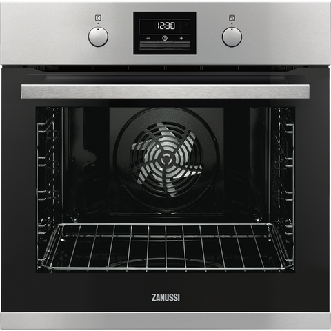 Zanussi ZOP37982XK 60cm Electric Oven stainless steel-Appliance People