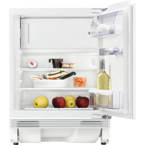 Zanussi ZQA12430DV Built under Integrated fridge with ice box-Appliance People