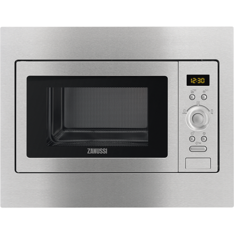 Zanussi ZSC25259XA Integrated Microwaves stainless steel-Appliance People