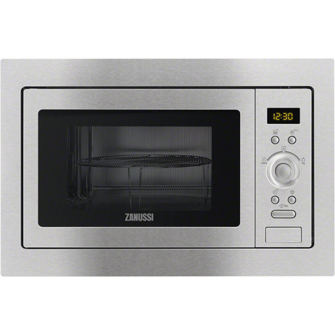 Zanussi ZSG25224XA Integrated Microwaves stainless steel-Appliance People