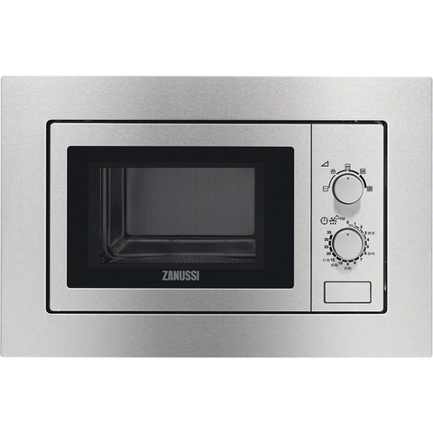 Zanussi ZSM17100XA Integrated Microwaves stainless steel-Appliance People