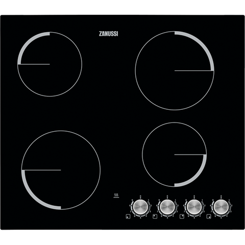 Zanussi ZV694NK Electric hob black-Appliance People