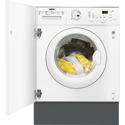 Zanussi ZWI71201WA 7kg Integrated washing machine-Appliance People