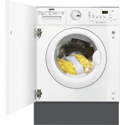 Zanussi ZWT71201WA 7kg Integrated washer dryer-Appliance People