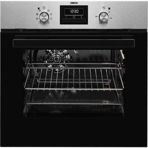 Zanussi ZZB35901XA Electric Oven stainless steel-Appliance People