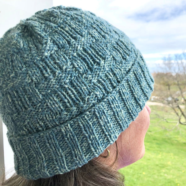 Brickway Hat & Cowl Pattern by Deborah Newton