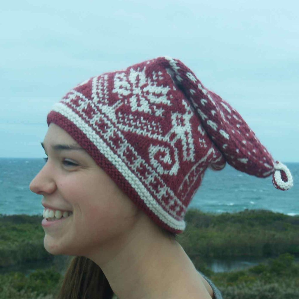 Block Island Wave Hat Knitting Kit Designed Deborah Newton