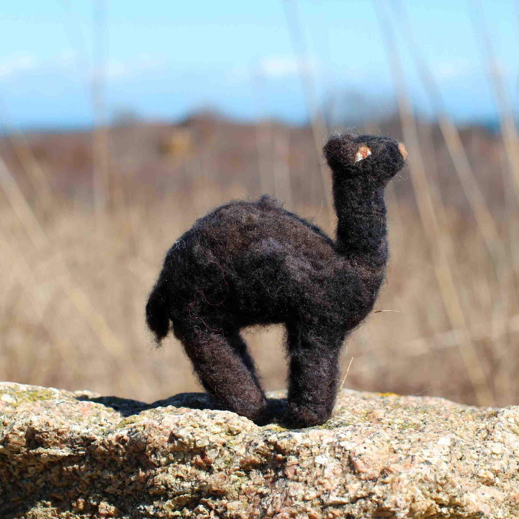Camel (dromedary) Needle Felting Kit