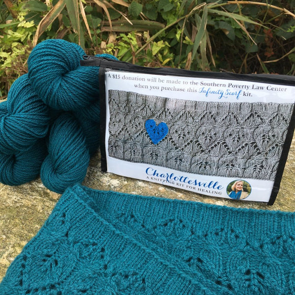 Charlottesville - a knitting kit to stop the hate and start the healing