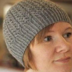 Block Island Beanie designed by Gudrun Johnston