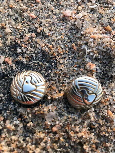 Block Island White Metal Buttons