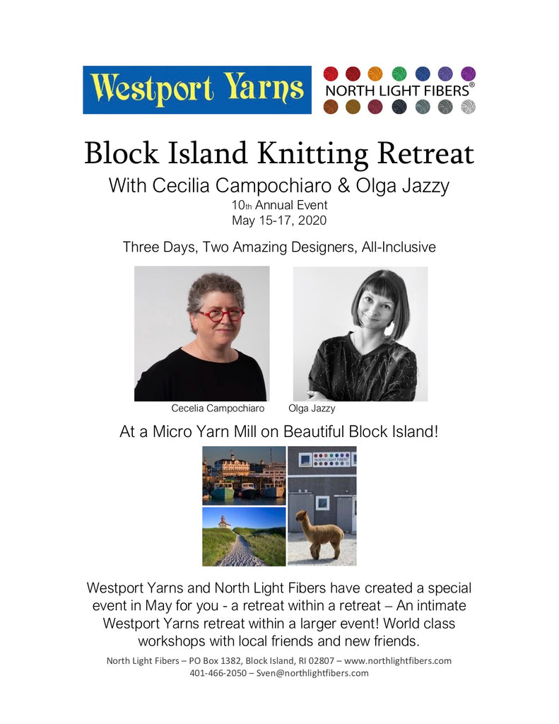 Westport Yarns Knitting Retreat - Premium Room
