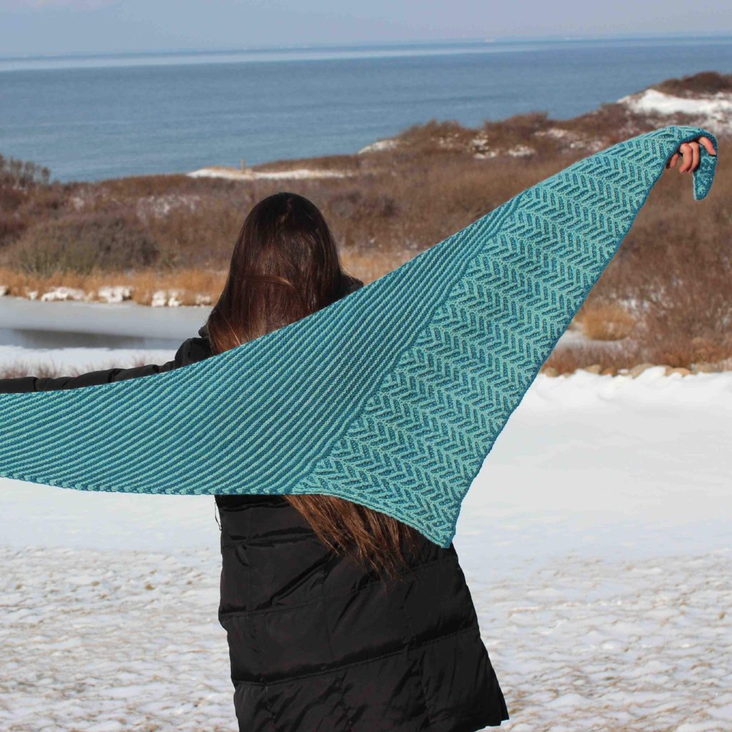 Flechir Shawl and Marnie MacLean