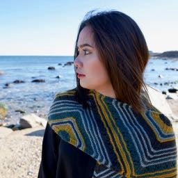 Ipseity Shawl Designed By Heather Zoppetti
