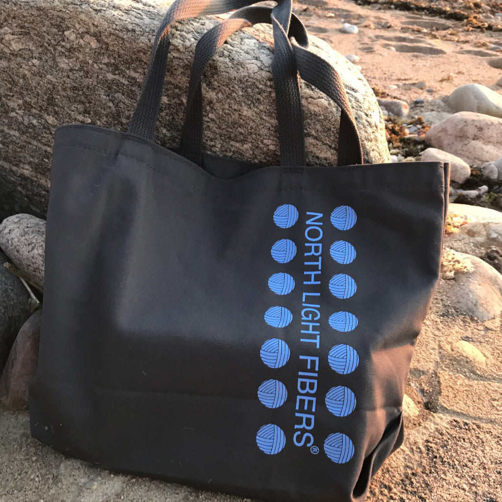 North Light Fibers Tote Bag