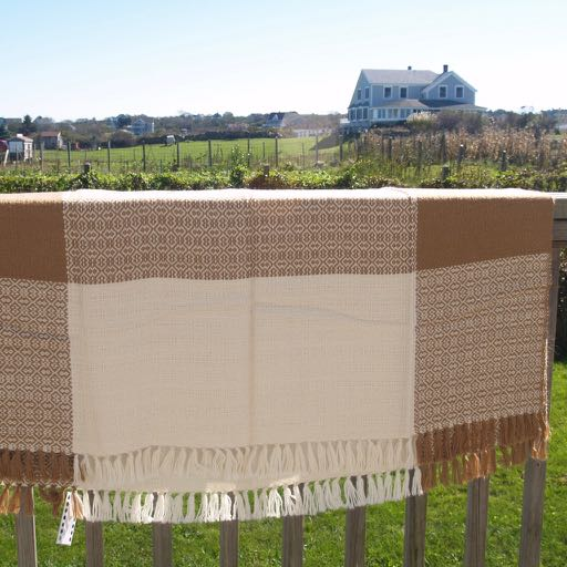Block Island Alpaca Throw - Brown Tones