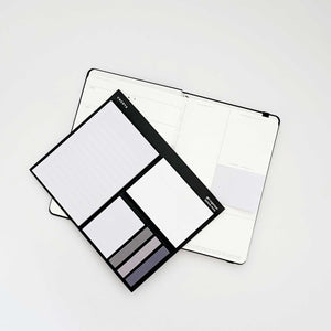 CNCPTS Notebook + Sticky Pad Set