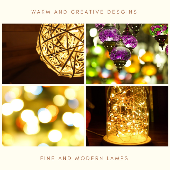Lamps and LED for homes