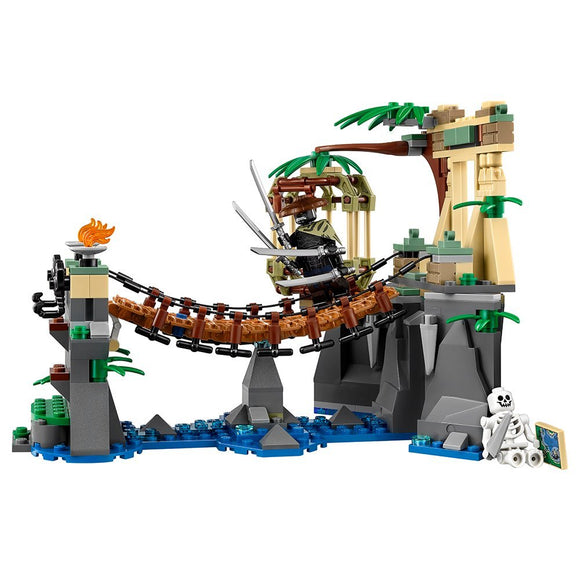 334 pcs Ninja Movie Series Master Falls Lepin Building kit