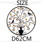 Wall Decor Ornaments Metal Decoration 62CM Creative Wall Decorations Living Room Background Wall Art