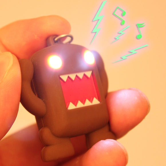 Funky Key Chain Flashlight + Sound Minions Led -fun to play with