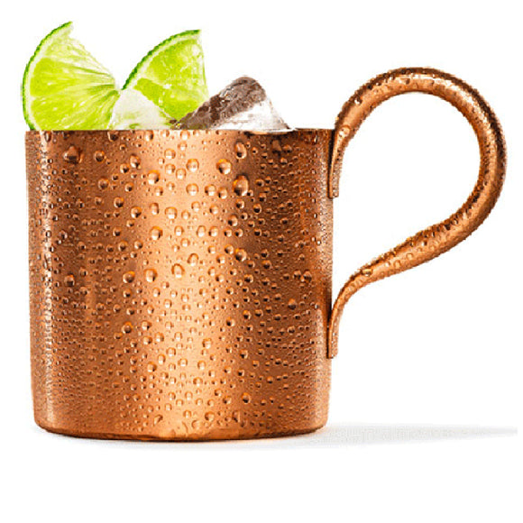 Coffe Cup Water Glass Drinkware 300ML/500ML Copper plated Stainless Steel Moscow Mule Mug Drum