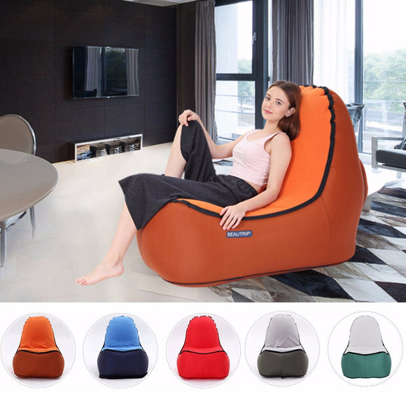 Inflatable Air Lounge chair Indoor & Outdoor hangout 2 sizes availables