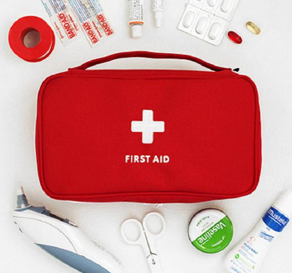 Camping/Hiking First Aid Medium Kit (Empty) Multi-Layer First Aid bag