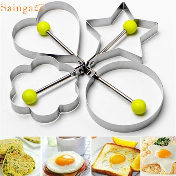 Let's Get Healthy Meal for kids , with this lovely Stainless Steel Fried Egg Shaper Pancake Mould