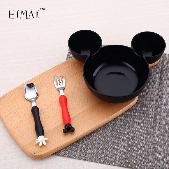Amazing Solution for children's appetite, Cartoon Shape Dinnerware and Spoons, forks. CE / EU certification