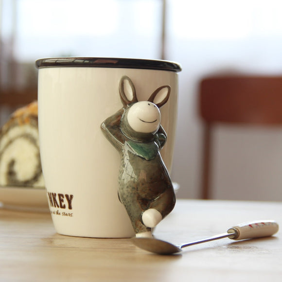 Fox Donkey and other characters Coffee Mug Cup