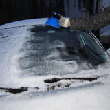 Cone Shaped car Windshield Ice Scraper + Funnel