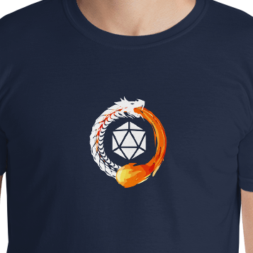 Circle of Fate Shirt - White Imprint