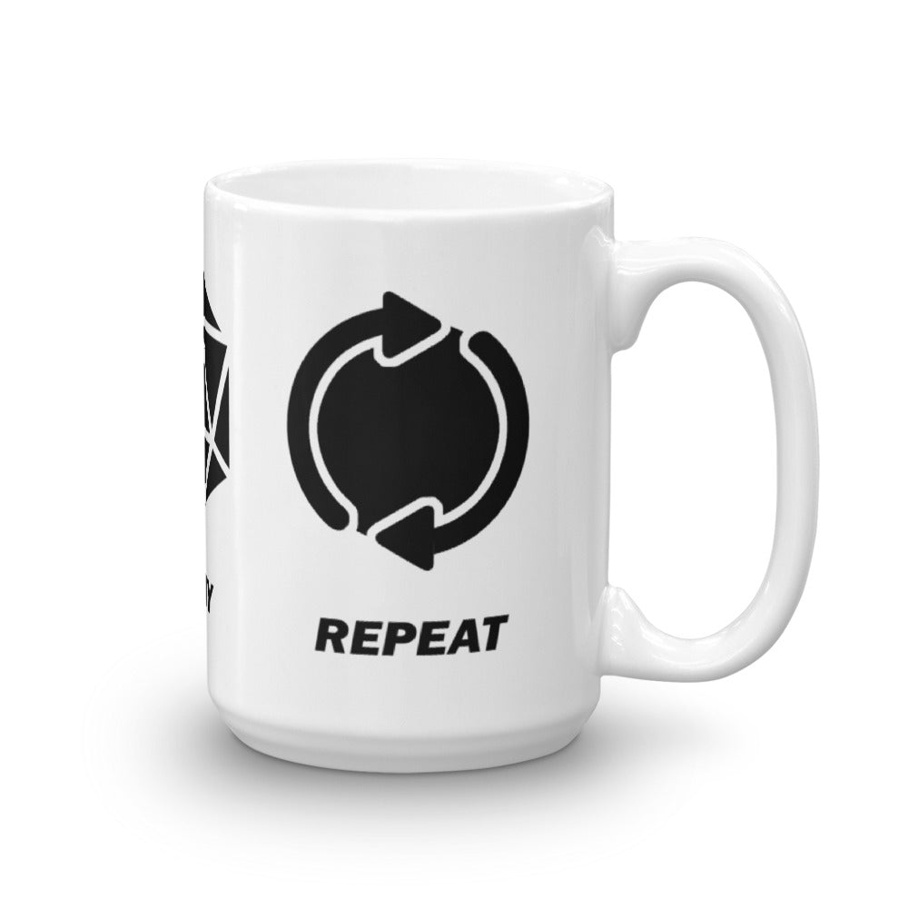 Craft | Play | Repeat Mug - Black Imprint