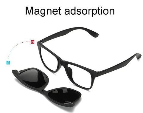 Image of Switch Shade ™ 5-IN-1 Magnetic Glasses Sunglasses Bigboystores