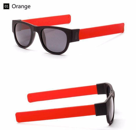 Image of Snap Glass Shades™ Sunglasses Bigboystores Orange