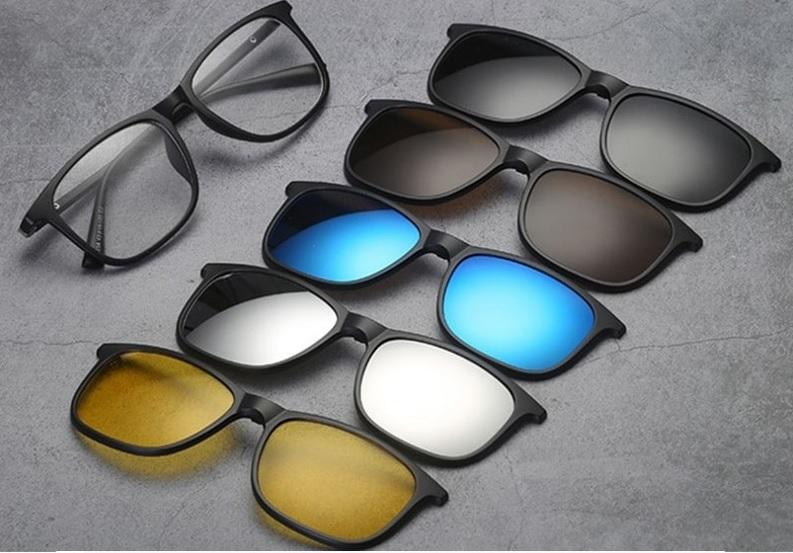 5 in 1 High Quality® Magnetic Lens Swappable Sunglasses Free Shipping Only Today