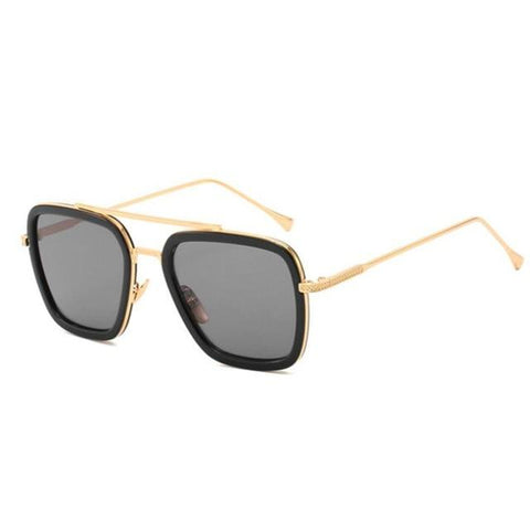 L3000 EDITH Sunglasses Sunglasses Bigboystores Gold Grey